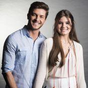 Camila Queiroz não acha Klebber Toledo almofadinha: 'Estilo básico arrumado'