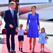 Tudo azul! Família Real aposta na cor em viagem à Alemanha. Veja fotos dos looks