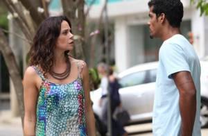 'Em Família': Jairo ameaça bater em Juliana. 'Saio logo na porrada'