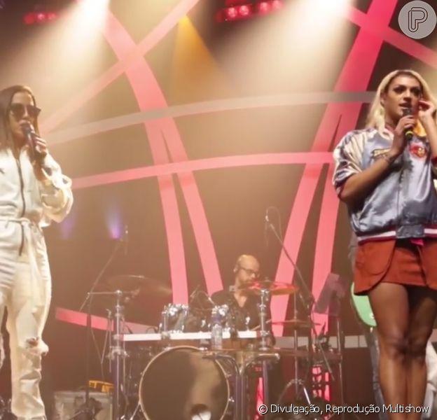 Anitta e Pabllo Vittar foram elogiadas pela primeira apresentação na TV: 'Sem fôlego!'
