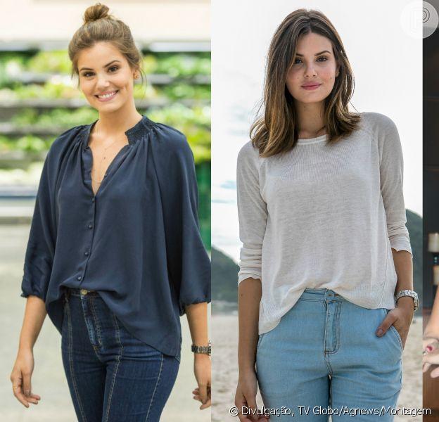 Calça Jeans é a peça favorita do guarda-roupa de Camila Queiroz