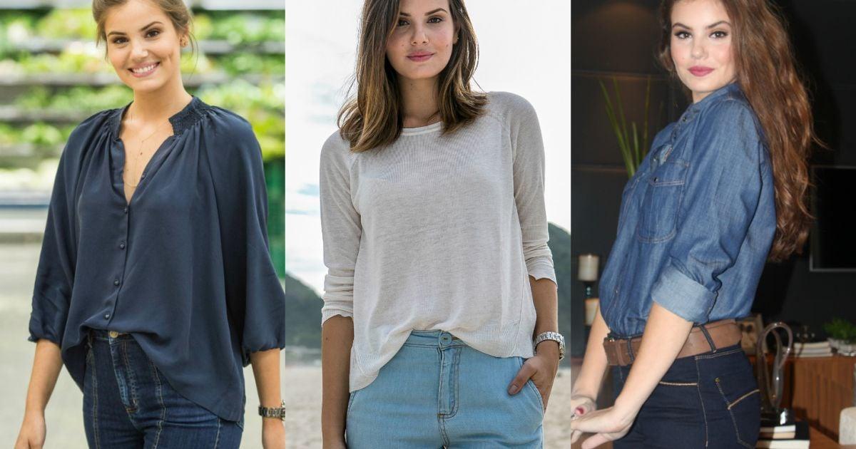 ffd69b4f4b Camila Queiroz revela que calça jeans é a sua peça favorita no armário    Primeiro lugar  - Purepeople