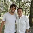 Kaká sobre namoro com modelo Carol Dias em entrevista a Amaury Jr., que vai ao ar nesta quarta-feira, 19 de julho de 2017