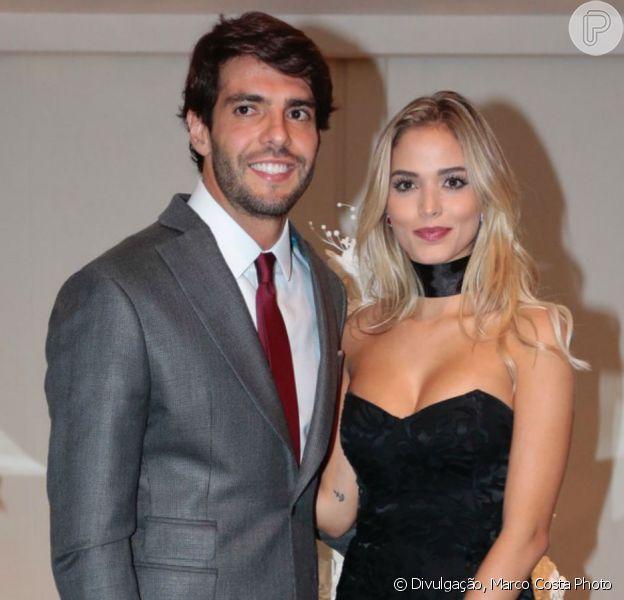 Kaká negou noivado com a modelo Carol Dias: 'A gente não tem pressa, não tem nada marcado ainda'