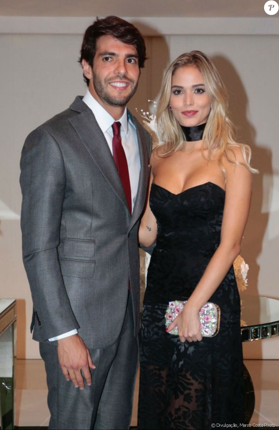 Kaká negou noivado com a modelo Carol Dias: ' A gente não tem pressa, não tem nada marcado ainda'