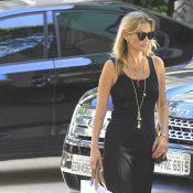 Kate Moss e Naomi Campbell fazem compras e almoçam em São Paulo