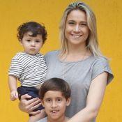 Fernanda Gentil celebra Dia do Amigo com foto dos filhos: 'Amizade pura'