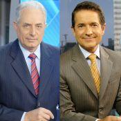 William Waack passa mal e é substituído por Carlos Tramontina em jornal da Globo