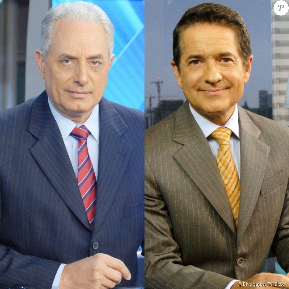 William Waack passou mal e será substituído por Carlos Tramontina no 'Jornal da Globo' desta quinta-feira, 20 de julho de 2017