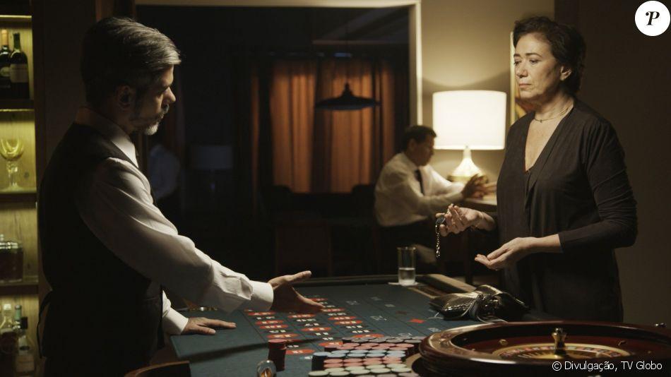 Silvana (Lília Cabral) vai ficar na mira de traficantes depois de não pagar a dívida no cassino clandestino