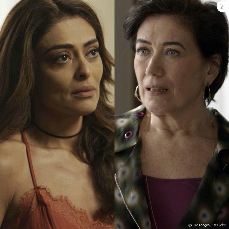 Bibi (Juliana Paes) vai pagar a dívida de Silvana (Lília Cabral) e salvá-la da morte na novela 'A Força do Querer'