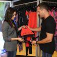 Kyra Gracie, mulher de Malvino Salvador, desenvolveu coleção de roupa com seu nome