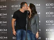 Kyra Gracie troca beijos com Malvino Salvador ao lançar linha fitness. Fotos!