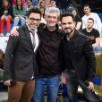 Zezé Di Camargo e Luciano foram os convidados do 'Altas Horas' deste sábado, 22 de julho de 2017