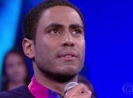 Ícaro Silva chora ao lembrar que mãe levou tiro: 'Não tem que perpetuar isso'