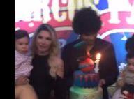 Antonia Fontenelle comemora 1º aniversário do filho Salvatore. Vídeo e fotos