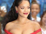 Ousada! Rihanna rouba a cena em première de filme com look decotado. Fotos!