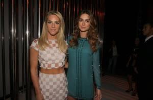 Thaila Ayala e Giovanna Ewbank prestigiam desfile de moda na Minas Trend