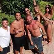 Bruna Marquezine e Sasha curtem piscina com Sabrina Sato, em Saint-Tropez