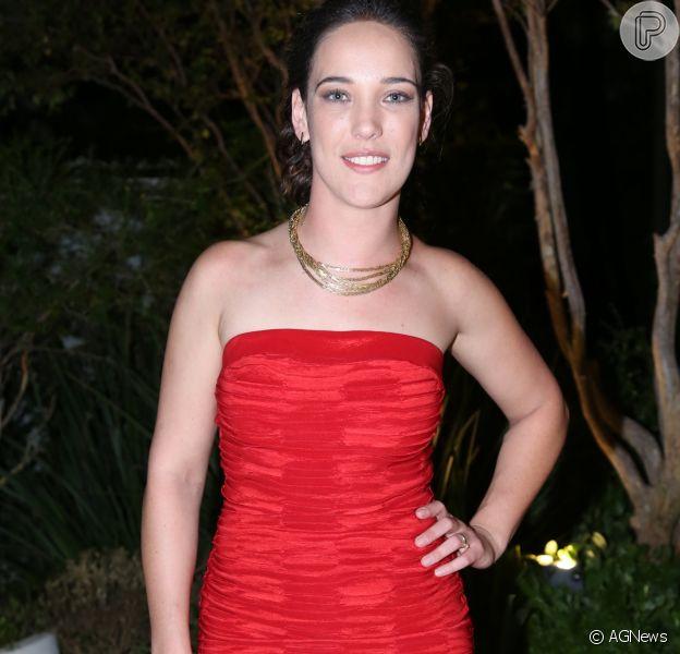 Adriana Birolli fez sua estreia na Record em 'Belaventura', na última terça-feira, 25 de julho de 2017