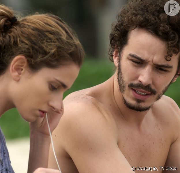 Carol Duarte revelou que torce para um final feliz entre Ivana e Cláudio na novela 'A Força do Querer'
