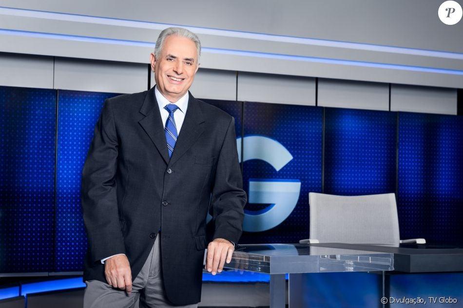 William Waack passa bem após cateterismo e volta à bancada do 'Jornal da Globo' na próxima segunda-feira, 26 de julho de 2017