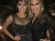 Isabella Santoni chama atenção por semelhança com a mãe em festa: 'Gêmea'