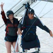 Agatha Moreira se diverte em voo de asa delta: 'Sempre quis fazer isso'. Fotos!