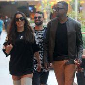 Anitta e Mumuzinho se divertem e são clicados juntos durante passeio no Rio
