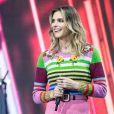 A apresentadora Fernanda Lima escolheu Di Ferrero para ser o primeiro a comentar sobre a performance de Mariana Rios no 'Popstar'