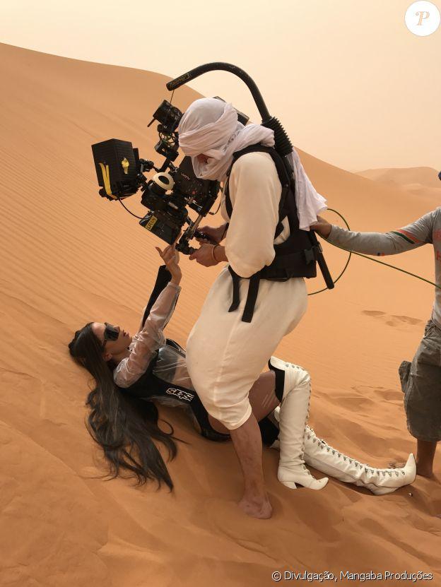 O clipe de 'Sua Cara' foi gravado em um só dia no deserto do Saara