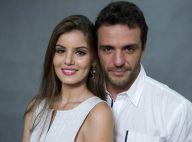 Rodrigo Lombardi posta foto com Camila Queiroz e fãs vibram: 'Angel e Alex'