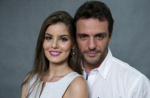 8fdeac18d1f12 Rodrigo Lombardi posta foto com Camila Queiroz e fãs vibram   Angel e Alex