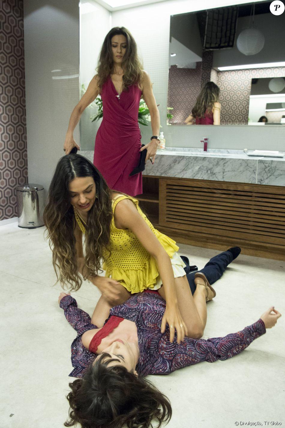 Isis Valverde defendeu surra de Ritinha em Irene (Débora Falabella) na novela 'A Força do Querer': 'Não incitou violência'