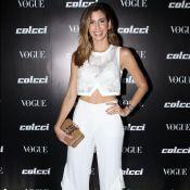 All white: Camila Coutinho se joga no branco em evento fashion. Fotos do look!