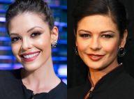 Estreante da Globo é a cara de Catherine Zeta-Jones: 'Dizem que sou filha dela'