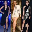 Bruna Marquezine, Marina Ruy Barbosa e Emma Watson já apostaram na tendência das peças assimétricas. Veja mais looks!