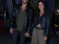 Moda de casal: Aline Riscado e Felipe Roque combinam looks em estreia de peça