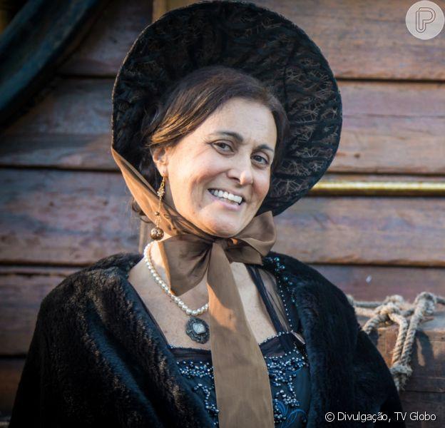 Márcia Cabrita deixou a novela 'Novo Mundo' temporariamente para tratar da saúde