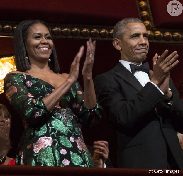 Michelle Obama parabeniza marido, Barack, após rumores de separação nesta sexta-feira, dia 04 de agosto de 2017