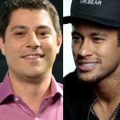 Evaristo Costa posta montagem e vira 'substituto' de Neymar:'Tamo aí, Barcelona'