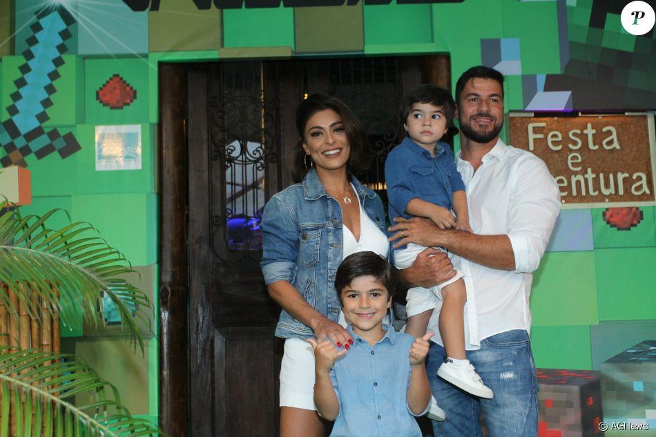 Juliana Paes comparou Bibi a Lobo Mau para explicar personagem ao filho Pedro, como contou em entrevista ao jornal 'Extra' neste domingo, dia 06 de agosto de 2017