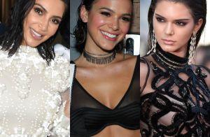Assim como Bruna Marquezine, veja famosas que já apostaram no wet hair. Fotos!