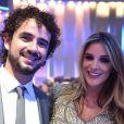 Rafa Brites e Felipe Andreoli são pais do pequeno Rocco, nascido no dia 2 fevereiro de 2017