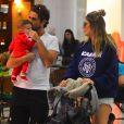 Rafa Brites é mãe de Rocco, de 6 meses, fruto do casamento com Felipe Andreli