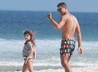 Cauã Reymond fala sobre conversa com a filha, Sofia, à distância: 'Por emoji'