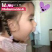 Filha de Deborah Secco, Maria Flor fica sem voz com presente: 'Melhor reação'