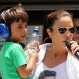 Ivete Sangalo já contou para o filho, Marcelo, de 7 anos, como nascem os bebês: 'Ele sabe que existe o namorinho do papai e da mamãe'