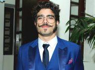 Caio Castro quer raspar cabelo após novela: 'O bigode vou deixar. Galera gosta'