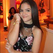 'Se eu precisar, coloco silicone sem problemas', declara Mel Maia, de 13 anos